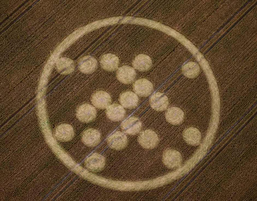 crop circle Solitaire